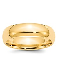 Bloomingdale's 4Mm Half Round Band Ring In 14K Yellow Gold 100 Exclusive