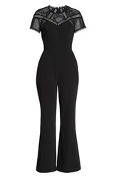 Harlyn Wide Leg Jumpsuit Black