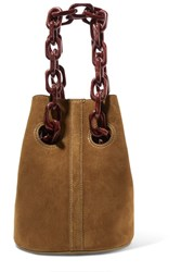 Trademark Goodall Suede Bucket Bag Beige