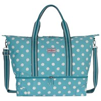 Cath Kidston Smudge Spot Travel Bag Teal