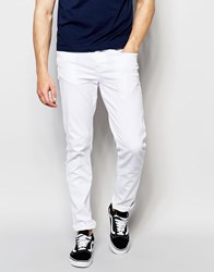 New Look Skinny Jeans In White White