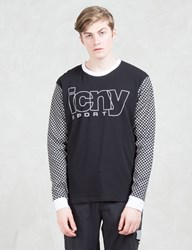 Icny Checker L S Top