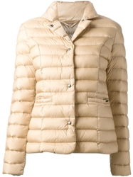 Woolrich Padded Jacket Nude And Neutrals