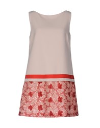 Le Ragazze Di St. Barth Short Dresses Light Pink