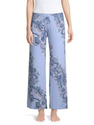 In Bloom Thyme Paisley Print Pants Sky Blue