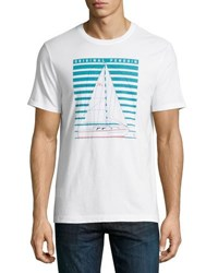 Penguin Technical Yacht Graphic Tee White