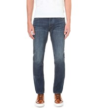 Ted Baker Steed Regular Fit Straight Jeans Dark Wash