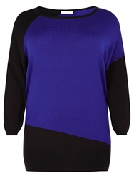 Windsmoor Block Jumper Blue Black