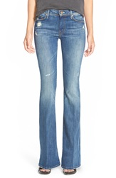 Mother 'The Cruiser' Flare Jeans Rough It Up