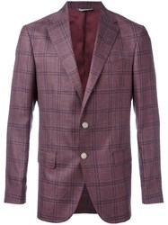 Fashion Clinic Timeless Single Breasted Blazer Pink Purple