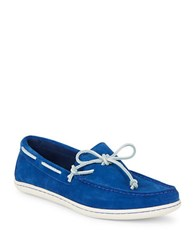 Polo Ralph Lauren Suede Boat Shoes Sapphire Star