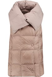 Add Quilted Shell Reversible Gilet Brown