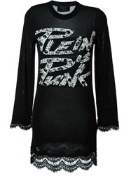 Philipp Plein 'Plein Is Punk' Dress Black