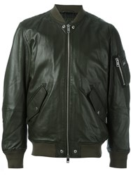 Diesel 'L Kit' Bomber Jacket Green