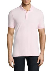 Armani Jeans Pique Polo Pink