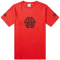 Vetements Double Happiness Tee Red