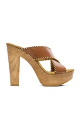 Seychelles Regency Wedge Cognac