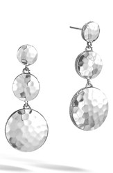 John Hardy Women's 'Dot' Drop Earrings Silver