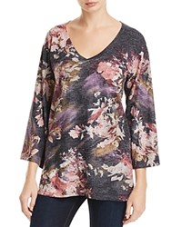 Nally And Millie Abstract Floral Print Tunic