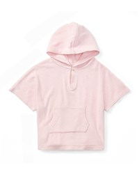 Ralph Lauren Terry Hooded Swim Coverup Size 9 24 Months Pink