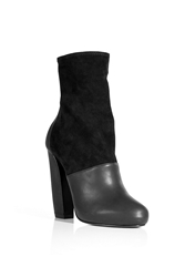 Pierre Hardy Leather Suede Booties