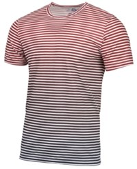 American Rag Men's Striped Ombre T Shirt Created For Macy's Worn Red