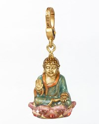 Buddha Charm Jay Strongwater Multi Colors