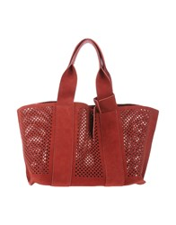 Pedro Garcia Handbags Brick Red