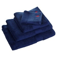 Ralph Lauren Home Player Towel Navy Blue