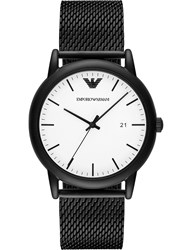 Emporio Armani Ar11046 Luigi Black Ion Plated Steel Watch