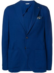 Manuel Ritz Formal Blazer Blue