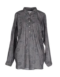 Meltin Pot Shirts Blouses Women Dove Grey