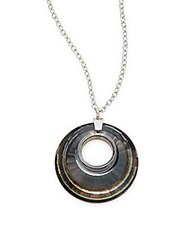 Swarovski Turn Crystal Ring Pendant Necklace No Color