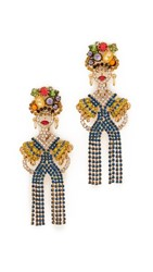 Elizabeth Cole Lola Earrings Multi