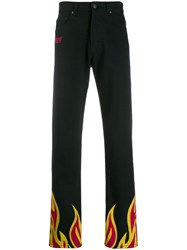 Msgm Flame Print Trousers 18