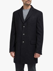 Eden Park Wool Pea Coat Navy