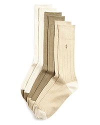 Ralph Lauren Ribbed Dress Socks Pack Of 3