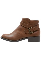 Dorothy Perkins Madia Ankle Boots Brown Tan