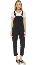 Rolla's Tapered Trade Overalls Black