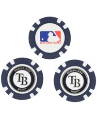 Team Golf Tampa Bay Rays 3 Pack Poker Chip Markers Blue