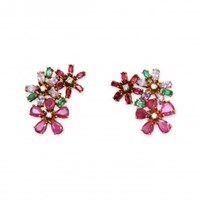 Isabel Englebert Delilah Flower Earrings
