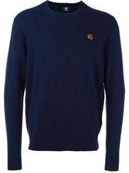 Paul Smith Ps By Crew Neck Jumper Blue