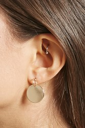 Forever 21 Disk Drop Earring Studs
