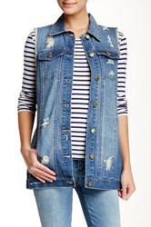 Jolt Denim Vest Blue