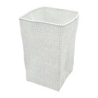 Moeve Tube Mesh Storage Basket Off White