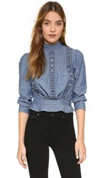 Citizens Of Humanity Josie Blouse Chambray