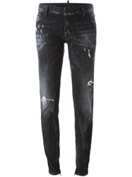 Dsquared2 Distressed Jeans Black