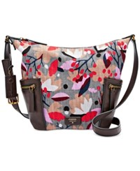Fossil Emerson Small Hobo Floral
