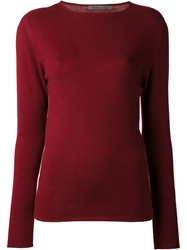 Denis Colomb Boyfriend Sweater Red