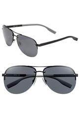 Hugo Boss 61Mm Sunglasses Matte Black